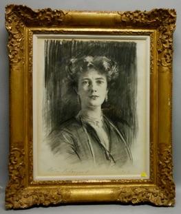 Sargent portrait of Lady Poole