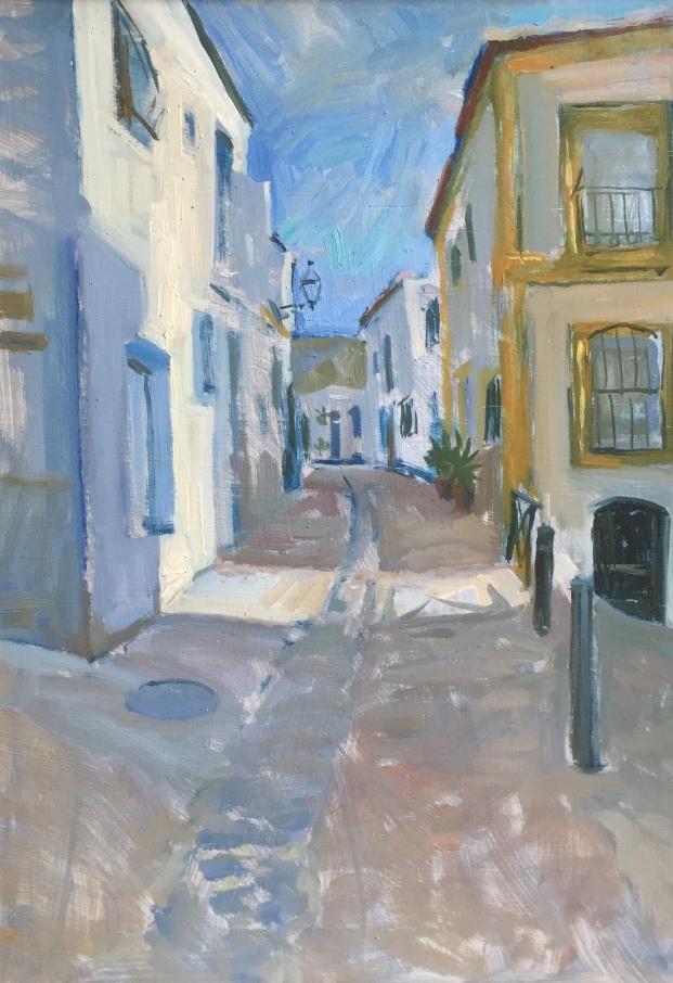 Streetview, Nijar 35x25cm £400